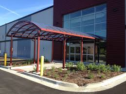 Entrance Awning Polycarbonate Awnings U0026 Canopies Commercial U0026 Industrial Awnings