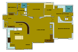 light clay straw mountain home floor plan