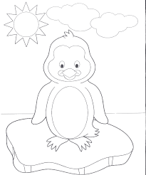 animal printable coloring pages penguins kids viatolosa net