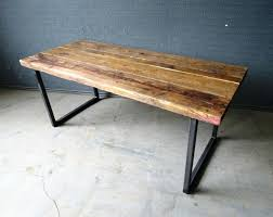Diy Industrial Dining Room Table Dining Table Industrial Pipe Dining Table Diy Style Rustic Metal