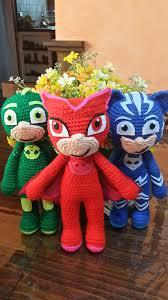 amigurumi pj masks cat boy doll handmade asosh
