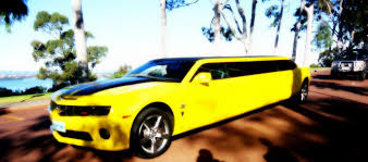 camaro limousine bumblebee chevrolet camaro limousine spotted soulsteer
