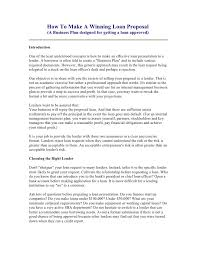 Job Desk Marketing Bank Sample Loan Proposal Template Loan Proposal Format Sample Loan