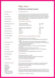 Examples Of Student Resumes With No Work Experience by 6 Sample Cv For Students With No Work Experience