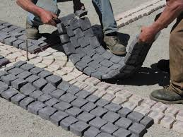 Rubber Patio Mats How To Install A Cobblestone System How Tos Diy