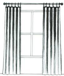 Black And White Draperies Blinds And Draperies In Herndon Va Design U0026 Interiors