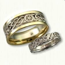 epic wedding band nautical themed wedding rings affordable unique gold ring designs