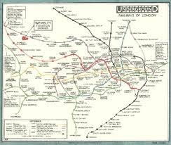 Tube Map London Tube Map Evolution Chilliant Com