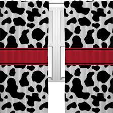 Cowboy Curtain Rods by Cowprint W Cowboy Curtains 2 Panels Per Set Personalized