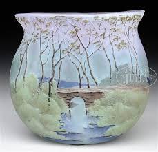 Enamel Vase Legras Cameo And Enamel Vase By Legras Co On Artnet