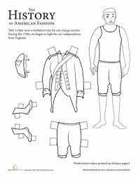 colonial boy coloring page colonial soldier paper doll 1700s colonial dolls and social studies