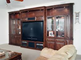 Entertainment Centers & Built in Niches Transitional Home