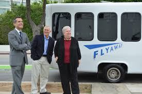 new cars in santa monica o u0027connor garcetti and bonin launch santa monica u0027s new flyaway