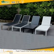 Plastic Feet For Patio Furniture by Foshan Garden Supplier Used Hotel Poolside Lounge Plastic Wood Sun