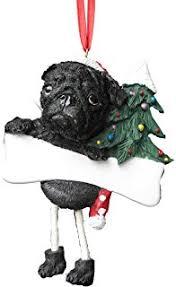 e s pets pug personalized ornament pet supplies