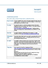 ks4 narrative writing teachit english