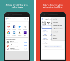 free browser apk zen browser free recharge apk version 0 131 co