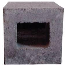 shop half cored concrete block common 8 in x 8 in x 8 in actual