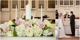 Wedding Flowers Church Traditional Pink White And Gold Country Club Wedding By Jan