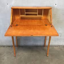 Secretary Computer Desk by Antique Maple Secretary Desk U0026 Chair U2013 Urbanamericana