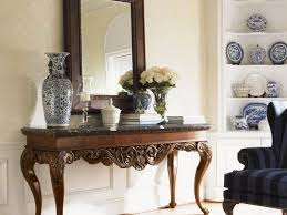 Entryway Mirrors Console Tables Foyer Console Table And Mirror Set Home Design
