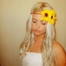 sunflower headband image of sunflower headband wedding ideas