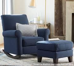 navy blue glider and ottoman blue gliding chair chair design ideas
