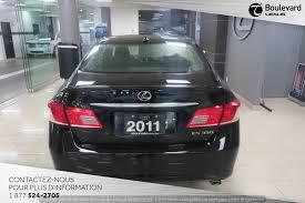 lexus canada es 2011 lexus es 350 17 995 québec boulevard lexus