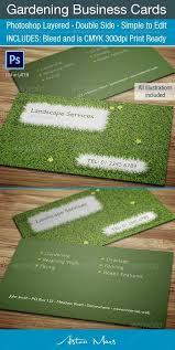 Landscape Business Cards Design 15 Best Landscaping Business Cards Images On Pinterest Business