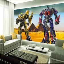 transformers bedroom 3d optimus prime wallpaper transformers photo wallpaper large