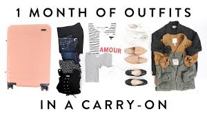 over 40 work clothing capsule 1 month of outfits in a carry on suitcase travel capsule wardrobe