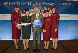 Oneworld Route Map by Qatar Airways To Join Oneworld Alliance