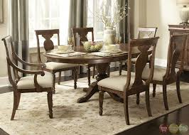 oak dining room set formal dining table set up belfort furniture reviews sagamore