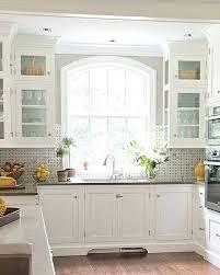 kitchen sink window ideas kitchen cabinets with sink beautiful kitchen cabinets window