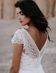love bohemian romantic wedding dress by australian designer