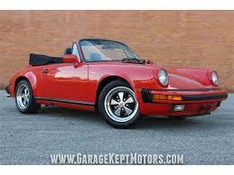 1986 porsche 911 targa 1986 porsche 911 for sale on classiccars com 16 available