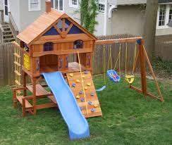 furniture interesting cedar summit playset for playground