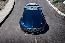 mercedes maybach mercedes benz u0027s latest concept car takes its design cues from art deco