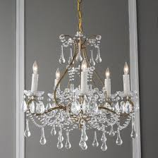 Cascading Chandelier by Cascading Crystal Chandelier 5 Light Shades Of Light