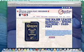 Grapefruit League Map Mlb Passport Mrbaseballman