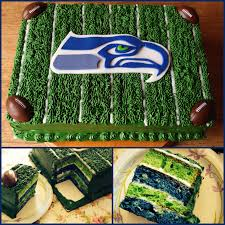 Seahawks Decorations Seattle Seahawks Cake Cakes And Other Treats Made By Me