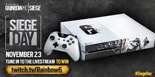 siege xbox one rainbow six siege on rt for a chance to win a rainbowsix