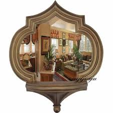 Shaped Bathroom Mirrors by Interior Kitchen Wall Decorating Ideas Pinterest Recessed