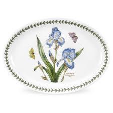 portmeirion botanic garden oval platter 11 inch set of 6