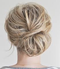 chignon mariage facile a faire invitée à un mariage 12 idées de coiffures parfaites pour l occasion