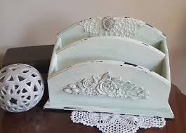 Shabby Chic Napkin Holder by 112 Best The Chic Trunk My Etsy Store Altered Items Images On