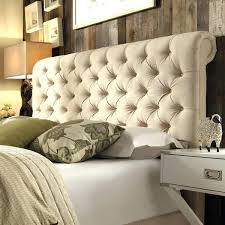 Tufted Leather Headboard Leather Tufted Headboard King Homey Design Pearl Finish