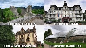 Neues Schloss Baden Baden Margkräflerland Badenweiler Kur Schlosspark U0026 Burg Baden