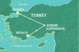 Istanbul On World Map by Complete Cappadocia Turkey Tours Geckos Adventures Us
