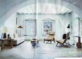 the living room of the gallerist thaddaeus ropac u0027s home in hydra